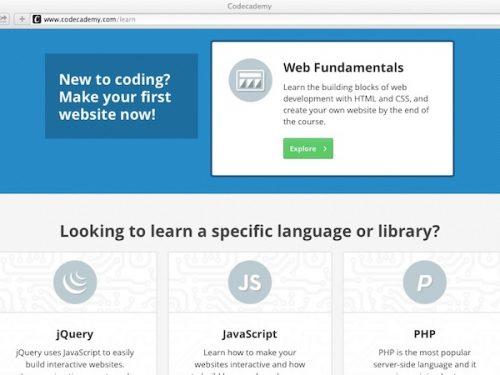 Imparare il Javascript con codecademy.com