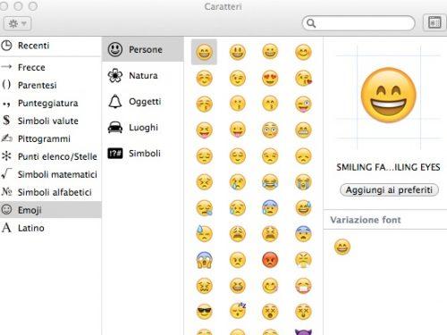 Attiviamo la tastiera emoji su iOS e OSX