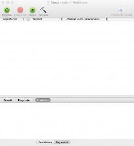 Interfaccia editor