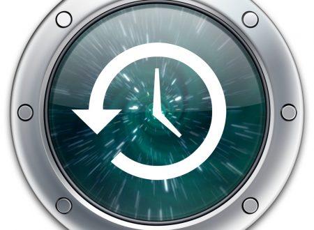 TimeMachine in rete e su dischi non supportati