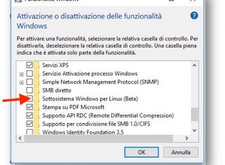 Bash, la shell di Linux dentro Windows 10