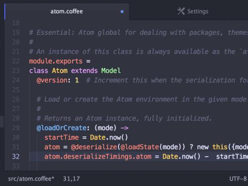 Atom, l'editor di testo definitivo per gli sviluppatori