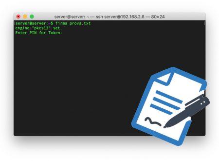 Firma digitale, potenziamola con l'uso della command line