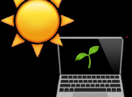 Solar powered web server, tuttologico a impatto energetico 0