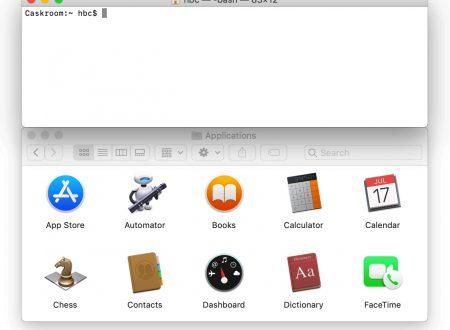 Cask, gestire le app su Mac con un comando da terminale