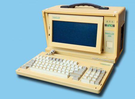 PC IMC Traveller 286, il primo laptop di tuttologico