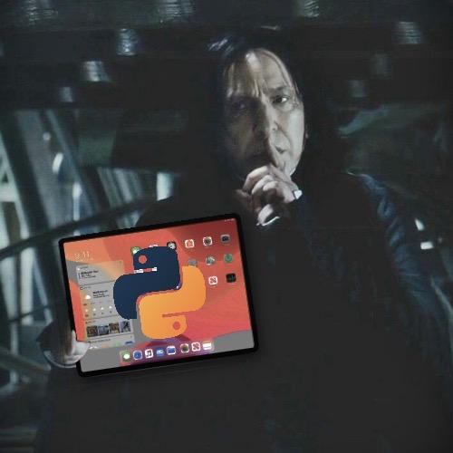 Python su iPad pro