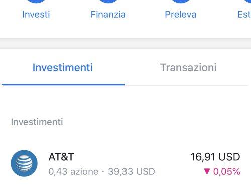 Trading on-line a partire da 1€ con Revolut