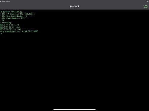 LibTerm, il terminale su iPadOS e iOS