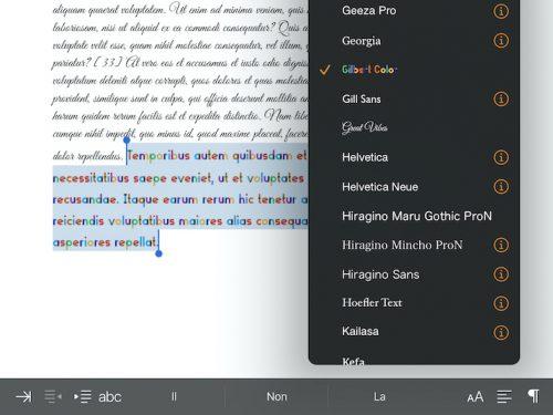 Font su iPad e iOs, come installarne di nuovi