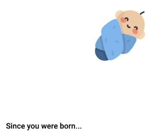 Statistiche dalla nascita