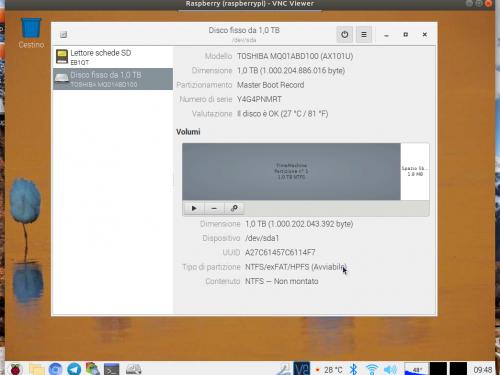 FileSystem, riparare partizioni NTFS con Linux