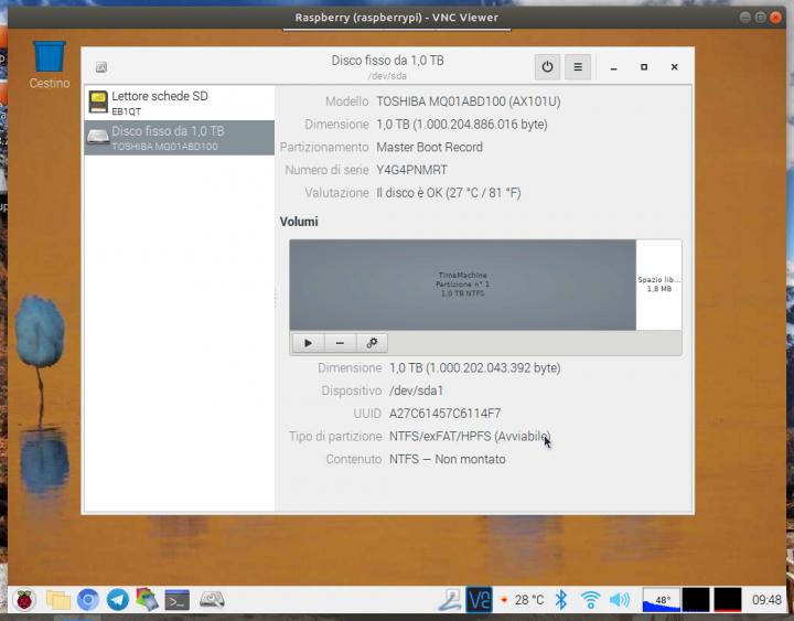 gidisk filesystem