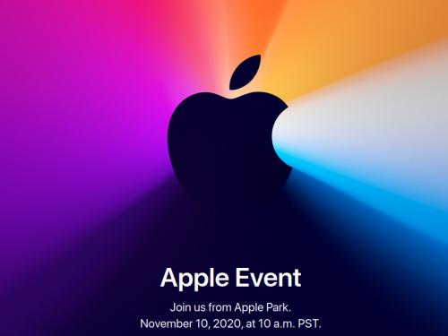 Apple event, cosa verrà presentato il 10 novembre🔮