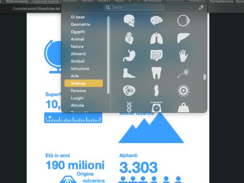 Infografica? si può creare facilmente con Pages