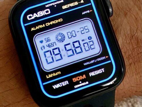 Quadranti Apple Watch fai da te con l'app clockology